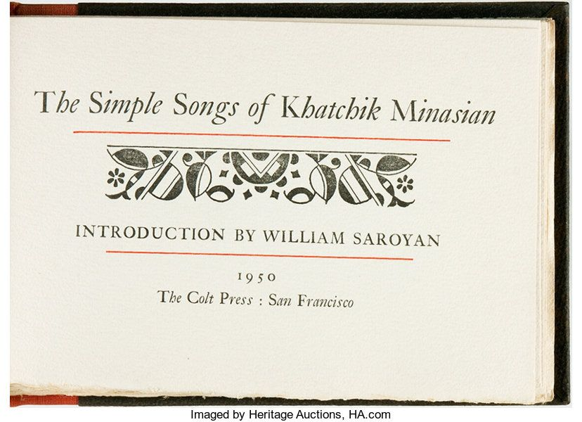 simple songs heritage auctions